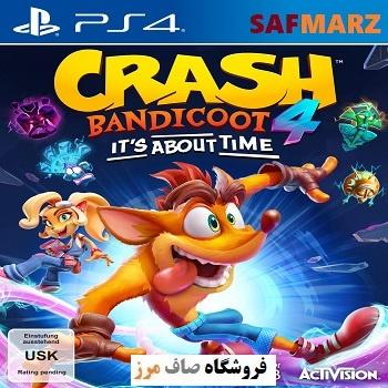 Crash Bandicoot 4- PS4-Safmarz