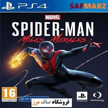 Marvels Spider-Man Miles Morales-PS4- Safmarz