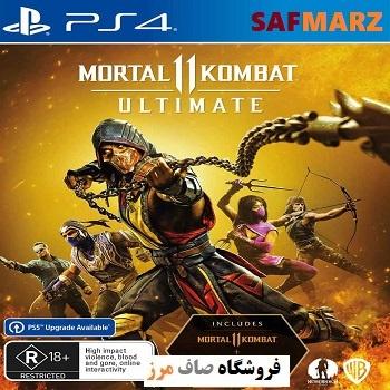 Mortal Kombat 11 -PS4-safmarz
